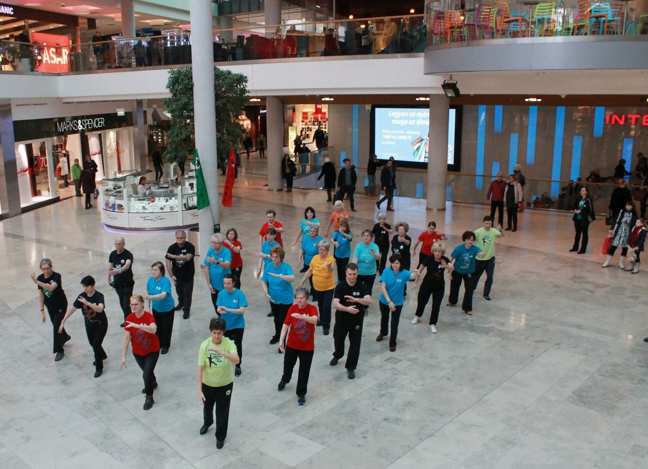 Finding Harmony and Tranquility in the Shopping Mall