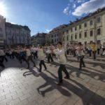 Twentieth Anniversary Celebration and Demonstration Broadcast on Slovak Television