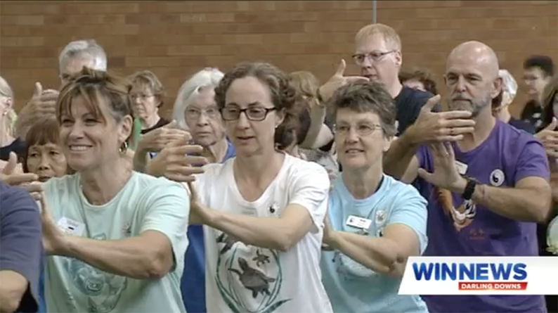Largest Taoist Tai Chi® Arts Program in Australian history makes the news