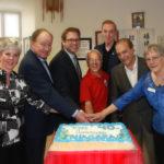 Lion Helps Celebrate 40 Years at Niagara