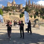 Demonstrations at the Zafiro Palma Marathon – Mallorca – Spain