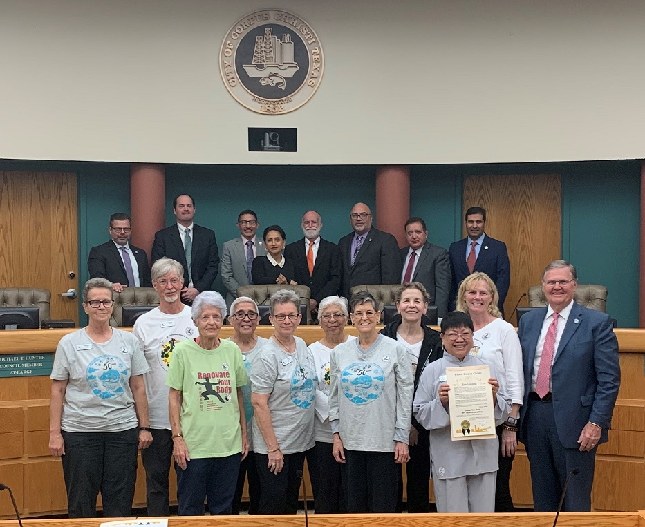 Proclamation issued in Corpus Christi, Texas for 50th Anniversary
