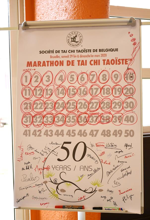 A 50 Set Marathon in Belgium to celebrate the 50th anniversary