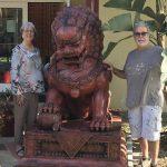 Lions Restored at the International Center Florida